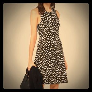 Michael Kors Leopard Stretch Viscose Dress